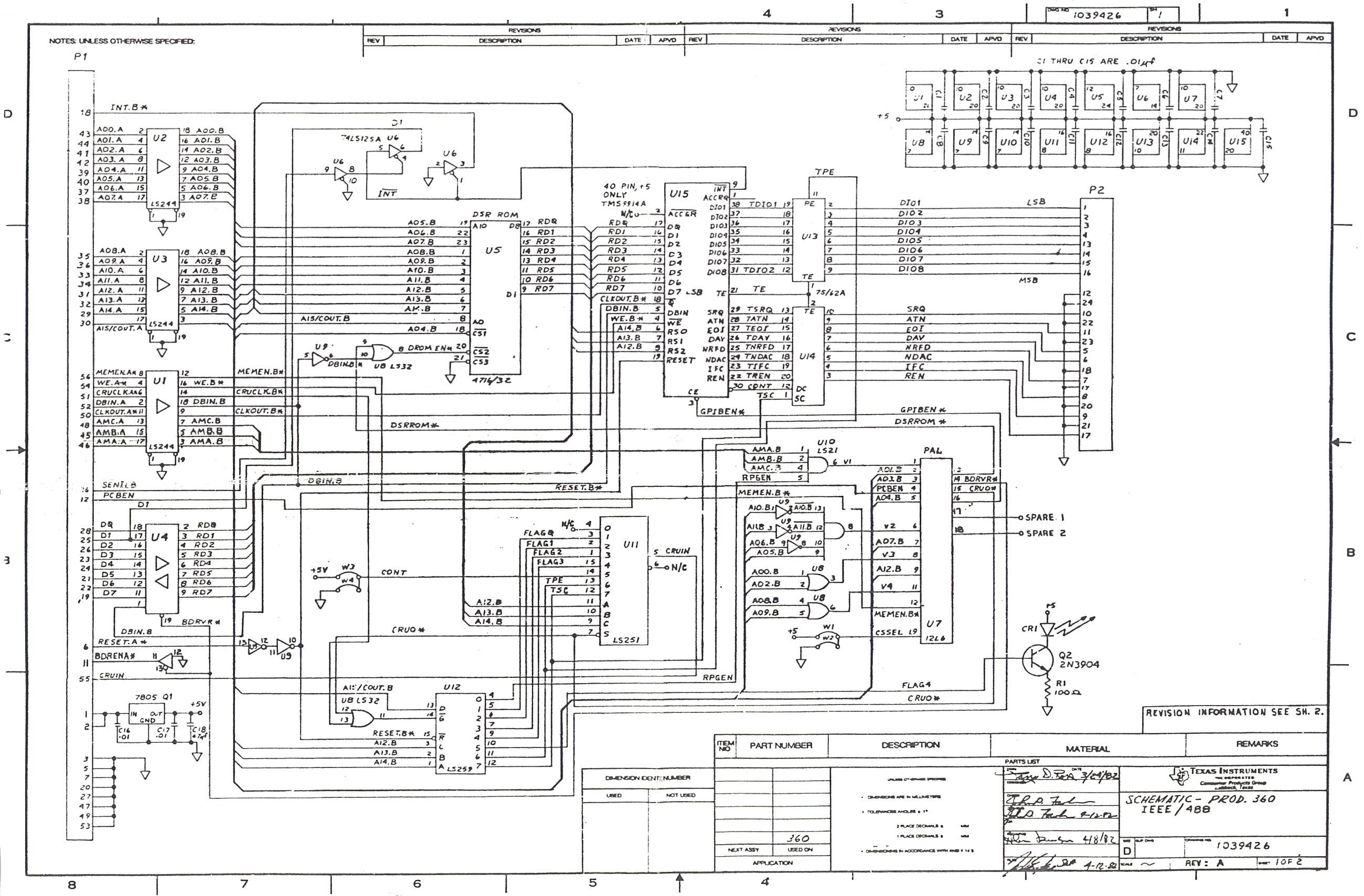 Ti99 Ti 99 Ti 4a Hardware Texas Instruments
